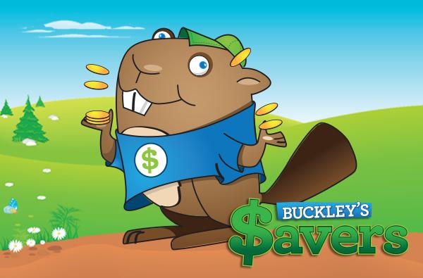 Buckley mascot