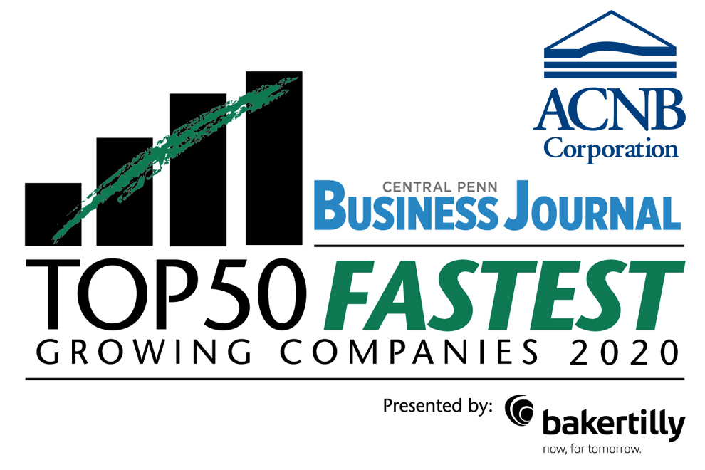 Central Penn Business Journal - Top 50 Fastest Growing Companies