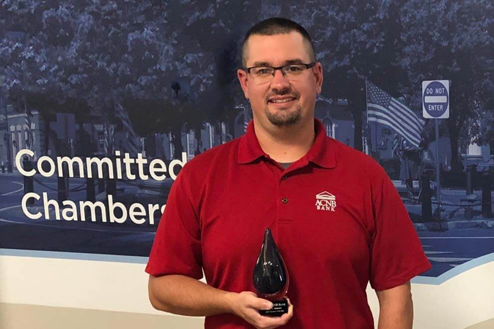 Eric Alleman awarded volunteer of the year 2020