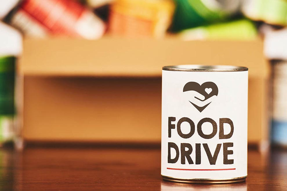 Bring food, cleaning, and household supplies to an NWSB office