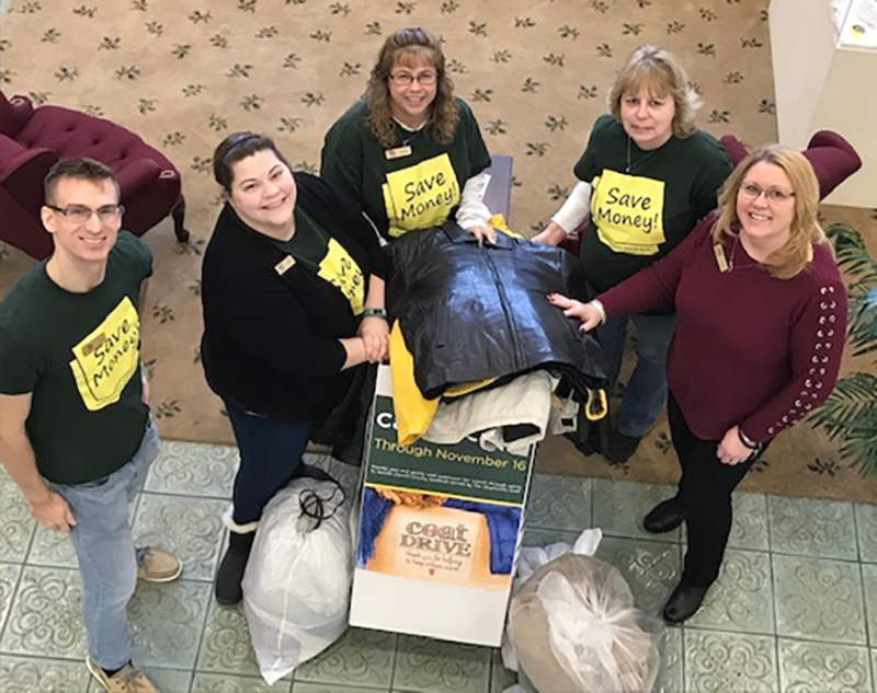 NWSB Bank's Call for Coats